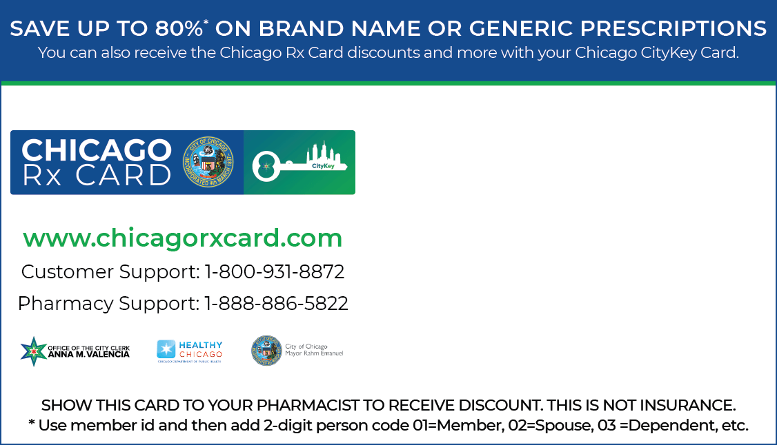 Chicago Rx Card